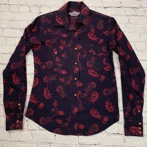 Panhandle Slim Brooks & Dunn Collection Shirt EUC